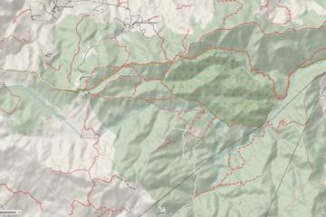 Mappa di Bosco Magnano - Febbraio 2021
